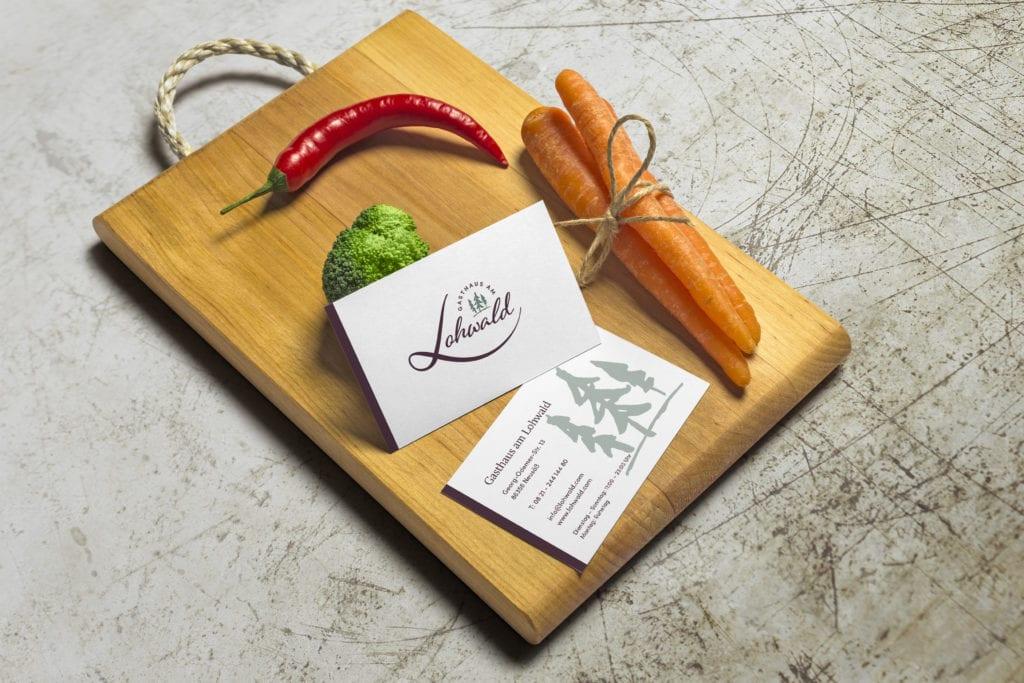 Restaurant am Lohwald - Visitenkarte