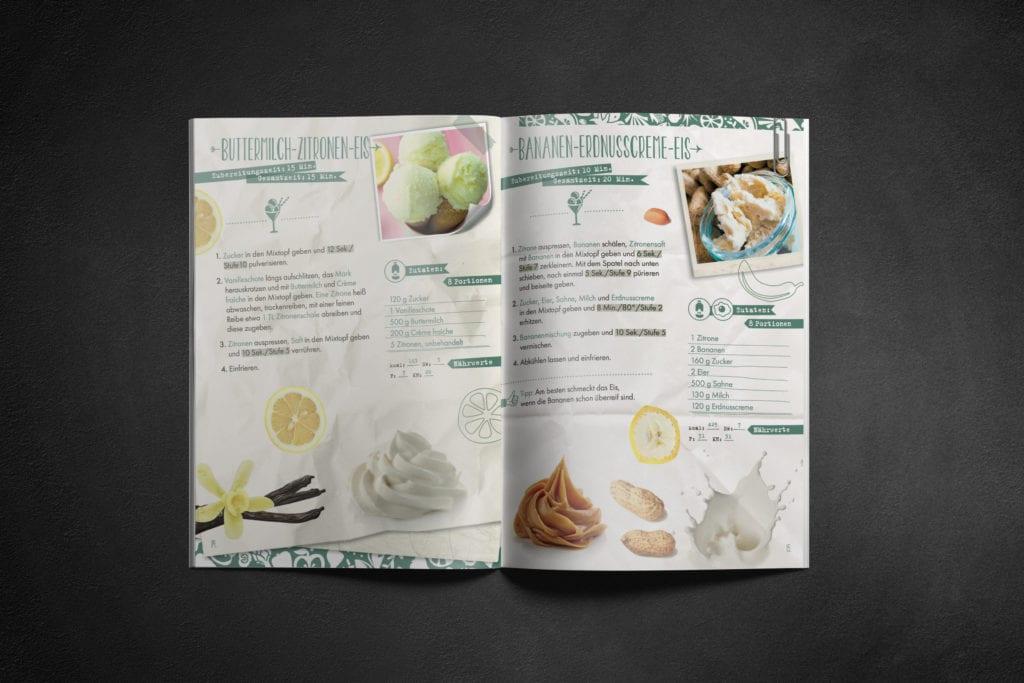 Mixessenz Kochbuch Eis