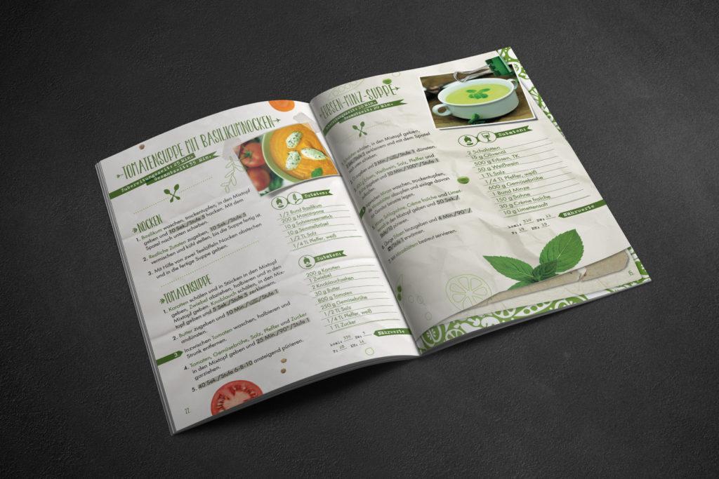 Mixessenz Kochbuch Feine Suppen Content