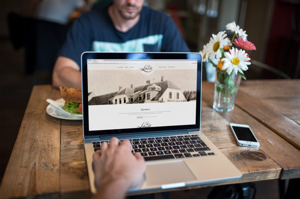 Restaurant am Lohwald-Website Header